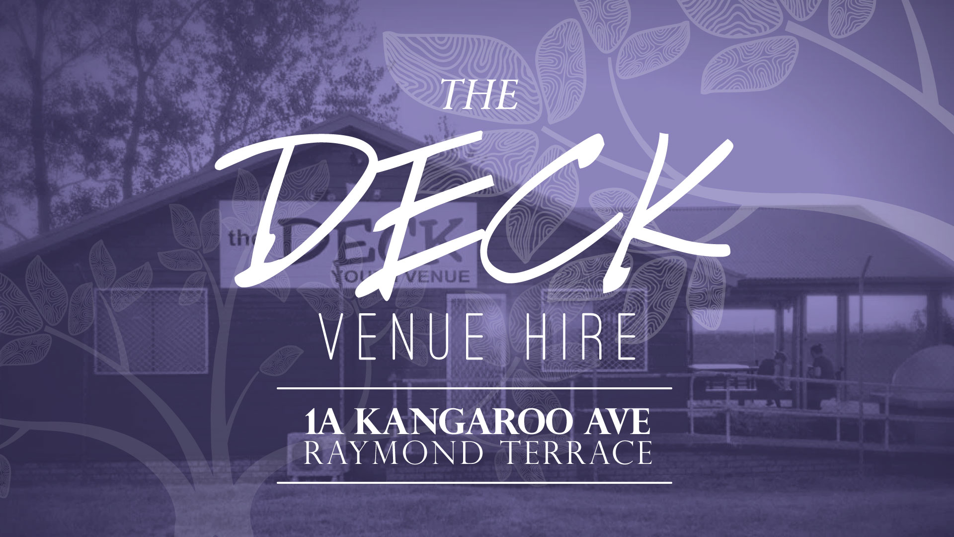 The Deck Venue Hire