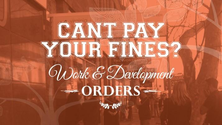 Work And Development Orders